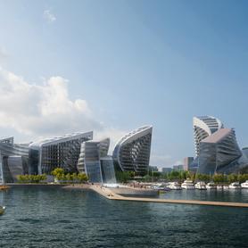 Открытый международный конкурс на разработку концепции части набережной в Новороссийске, Краснодарский край