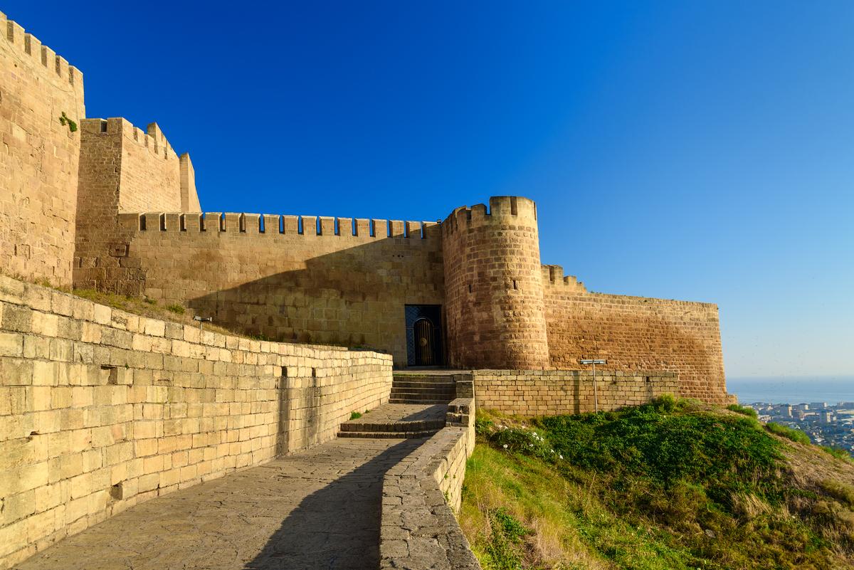 Картинки дербентской крепости